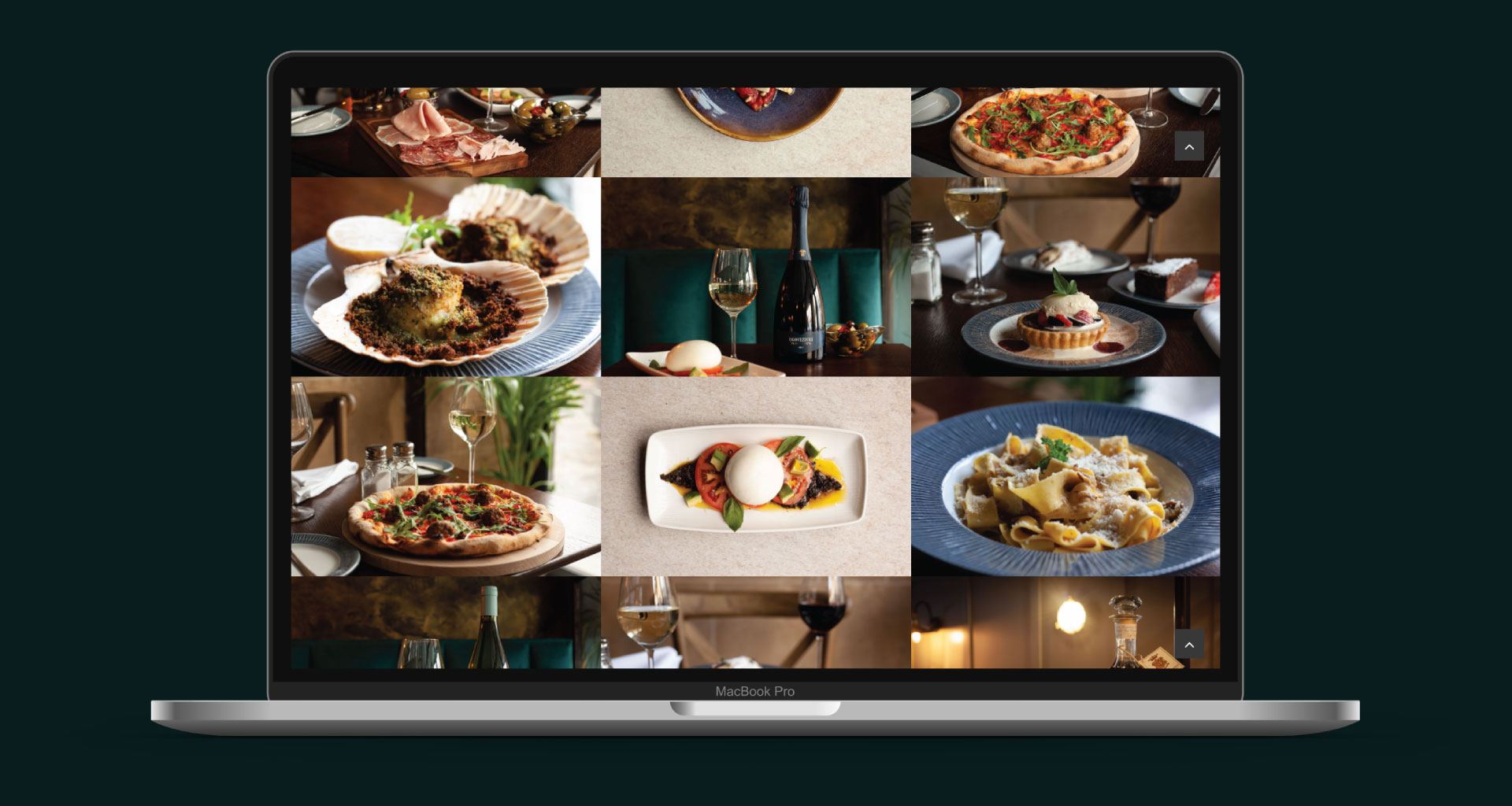 Arigo Restaurant Website and Video Content