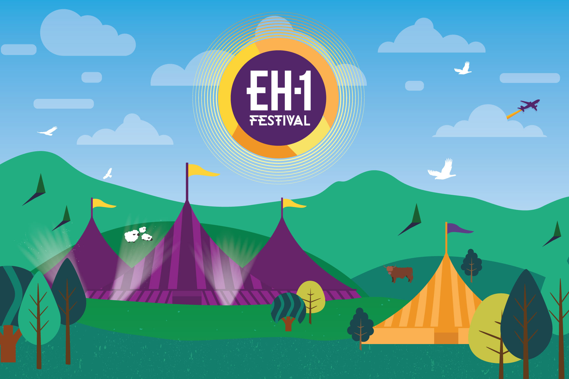 EH1 Festival Illustration