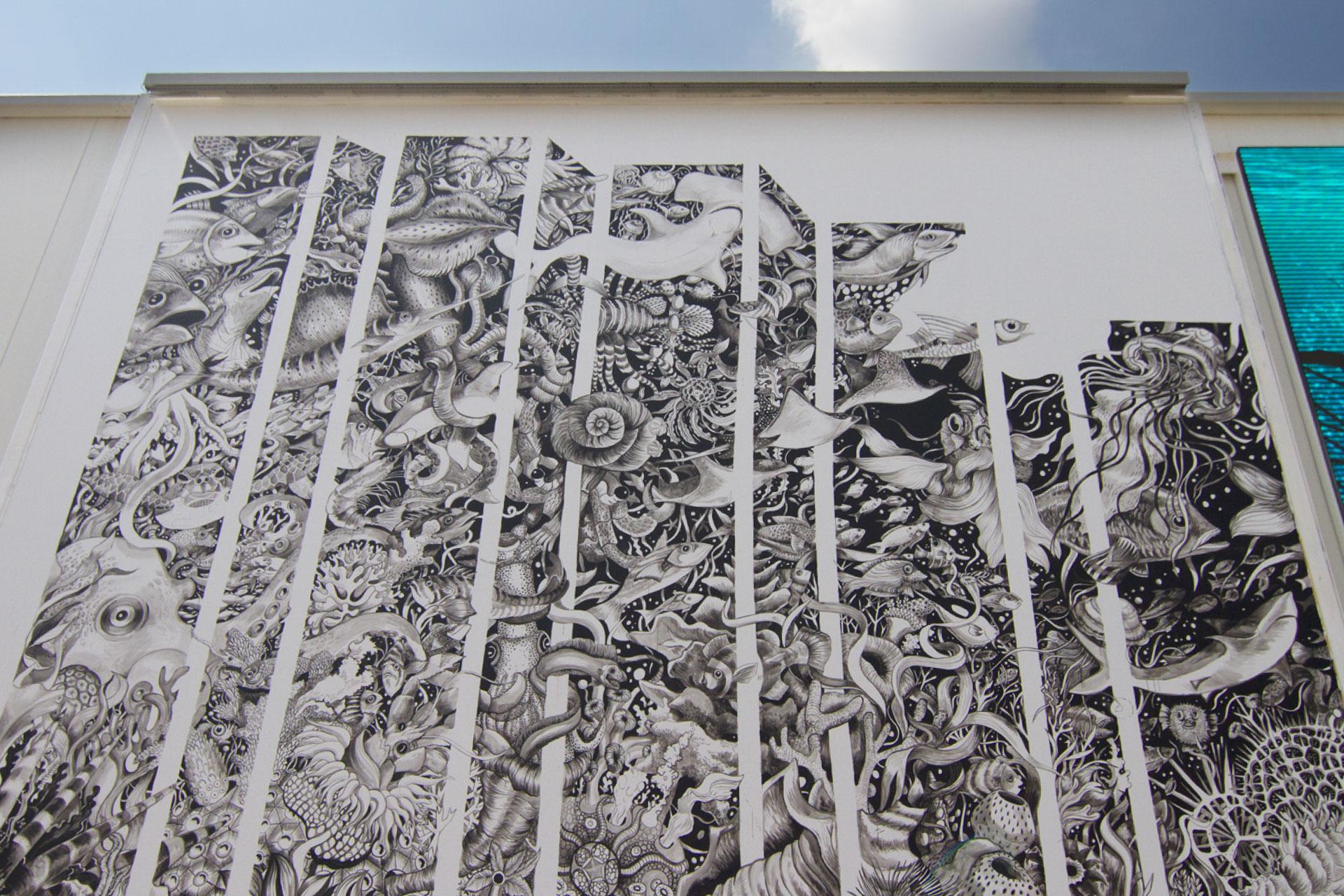 Expo Milan Mural