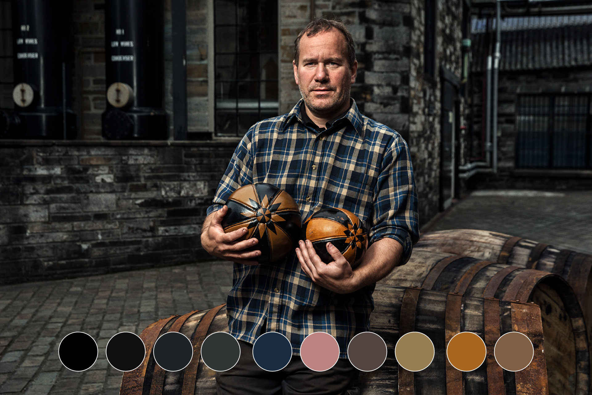 Highland Park Whiskey Digital Colour Guideline