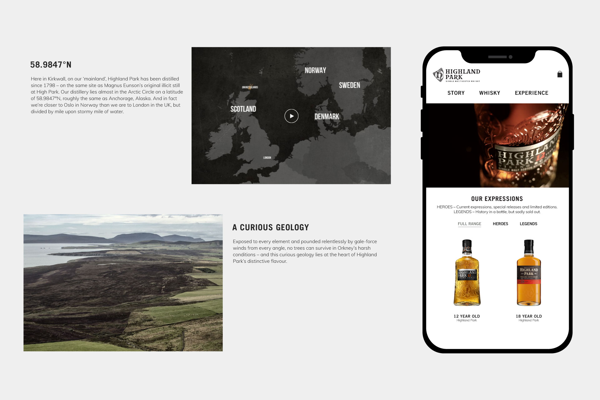 Highland Park Whiskey Website