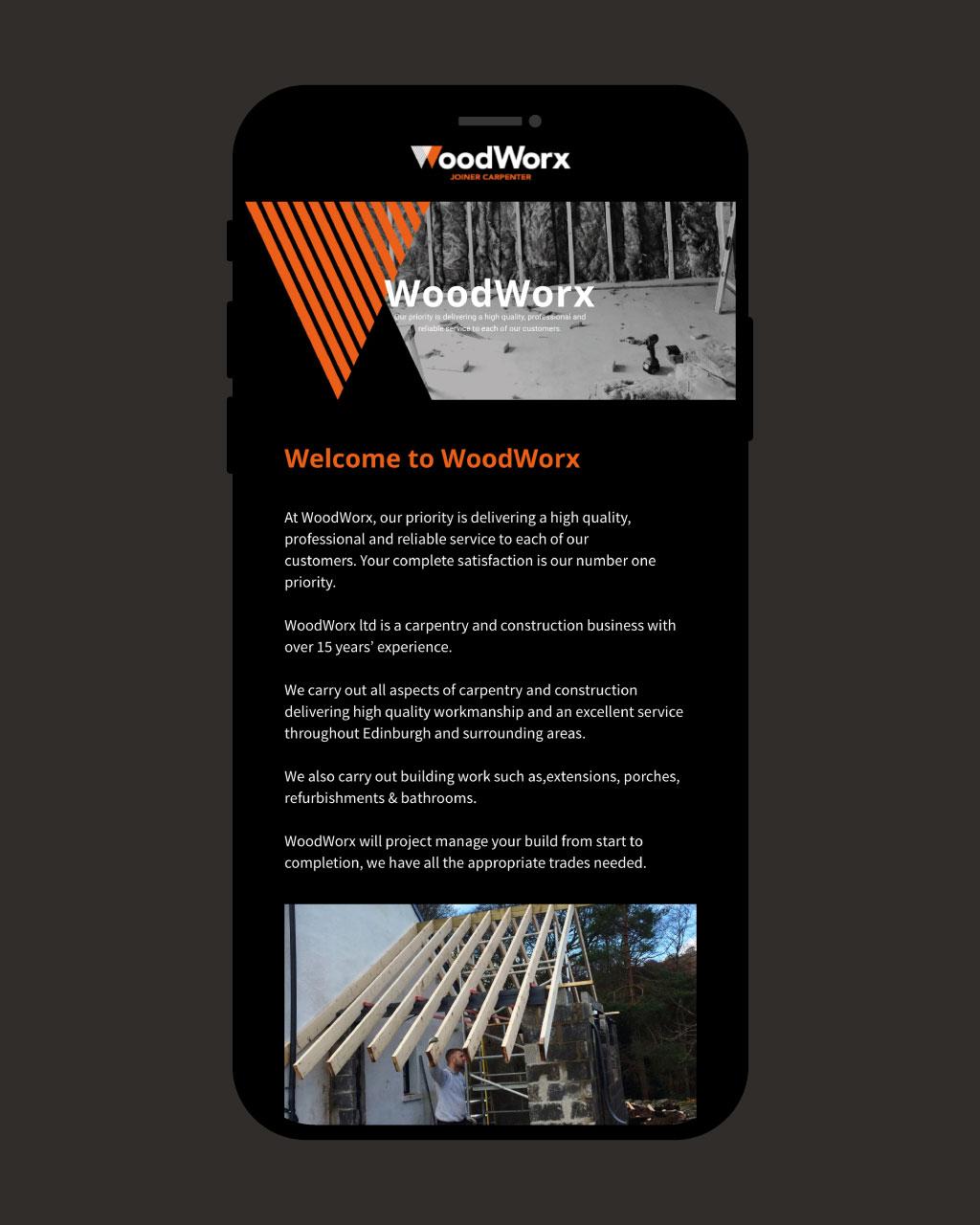 WoodWorx Branding