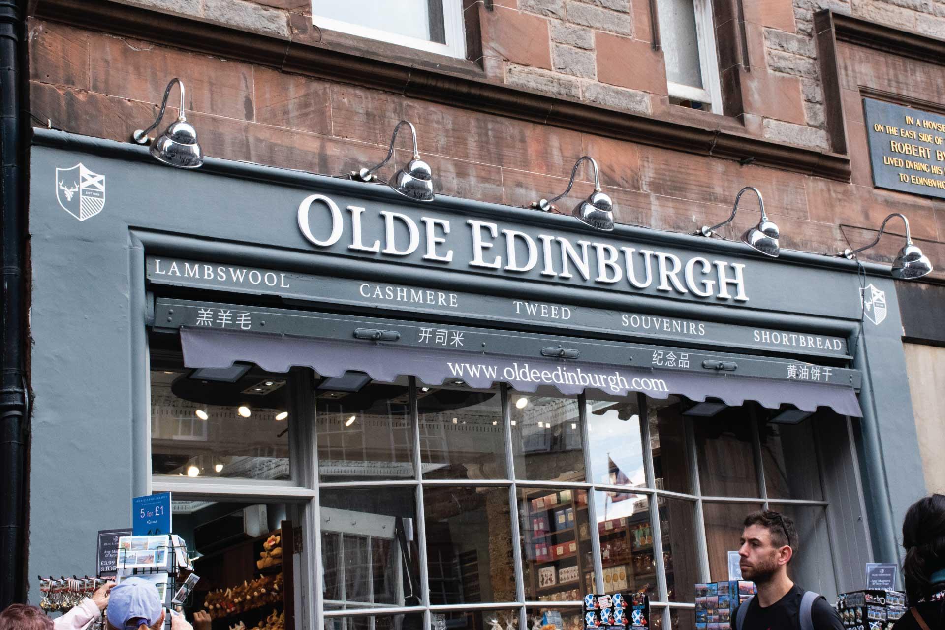 Olde Edinburgh Branding